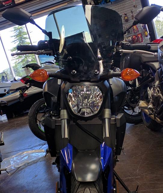Yamaha FZ07 Windshields